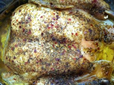 roast chicken whole